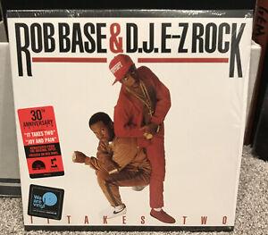 Rob Base & DJ EZ Rock It Takes Two Red Vinyl LP Record Store Day RSD