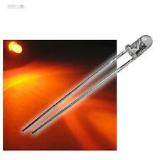 20 LEDs 3mm orange wasserklar WTN-3-5000o, oranje arancione oransje naranja LED