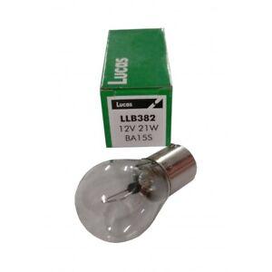 10x Lucas 382 12V 21W Bulb Single Pin Stop Side Flasher Stop Tail Brake Car Fog