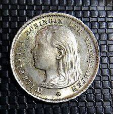 HOLLANDE 10 CENTS 1896 WILHELMINE  SUPERBE