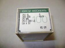 100 SIZE 70//10 SINGER 1515-01 16X231 16X257 DBX1 SEWING MACHINE NEEDLES A365