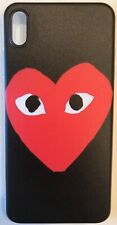 Comme Des Garçons CDG Play Black Red iPhone 11/XR/XS/X/8/7/6s/6 Phone Case Cover