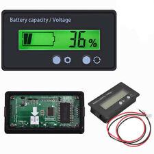 More details for led battery indicator voltmeter monitor level meter gauge lamp indicator 12v-48v
