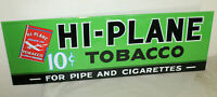 HI-PLANE TOBACCO LARGE 42'' VINTAGE STYLE EMBOSSED SIGNS COUNTRY STORE DECOR