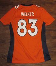 NFL Denver Broncos Wes Welker Boys Jersey, Nike On-Field, Orange, Size S, EUC