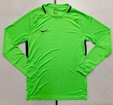 Nike Ls Dry Park Long Sleeve Shirt Men's M Neon Highlighter Green Soccer 894511