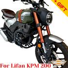 For Lifan KPM 200 Engine guard KPM200 Crash bars reinforced, Bonus
