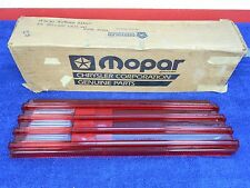 1976-80 PLYMOUTH ARROW  RH  TAIL LIGHT LENS  NOS MOPAR 1016