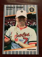 Donald Trump F Face - ACEO Baseball Art Card - 1989 Ripken Parody