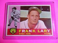 1960 Topps 85 Frank Lary White Back Ex-Mt ExMt Detroit Tigers