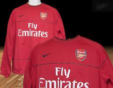 NOUVEAU Nike ARSENAL CLUB DE FOOTBALL entraînement Pull manche longue rouge XL