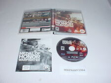 MEDAL OF HONOR: WARFIGHTER game complete in case - Sony Playstation 3 PS3