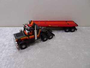 Großer XL DDR MSB Herkules Spielzeug Truck Sattelzug - Blech Plaste - Vintage