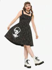Universal Monsters Bride Frankenstein Retro Dress Psycobilly Horror Medium Junio