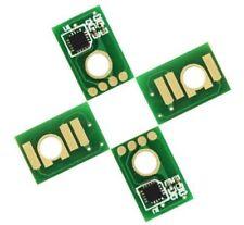4 x Toner Chip For Ricoh SP C840DN/SP C842DN  821255 821256 821257  821258