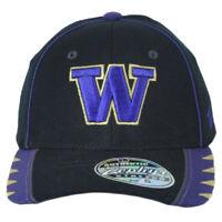 NCAA Zephyr Washington Huskies Two Tone Flex Fit Stretch Medium Large Hat Cap