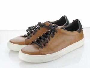 04-23 $198 Men's Size 11 M Goodman Edge Leather Low Top Sneaker - Brown