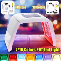 7/10 Colors LED Photon Light Therapy Skin Rejuvenation PDT Beauty Lamp Machine