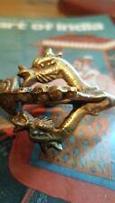 Vintage Tibetan Buddhist Brass Ritual Vajra Dorji Dorje sacred yoga prayer