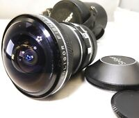 Soligor Fish-Eye 180 degree AUX Lens  with 27mm rear ring