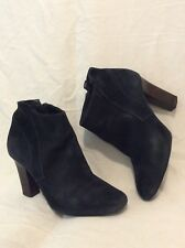Autograph Dark Grey Ankle Suede Boots Size 5