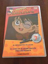 DETECTIVE CONAN DVD 7 - 1 DVD - 2 CAPS - 50 MIN - JONU MEDIA PLANETA DEAGOSTINI