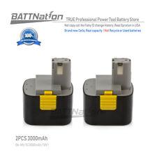 2x 12V 3000mAh 3.0AH Ni-Mh Pod Battery Panasonic EY9200 EY9201 EY9005B EY9006B