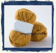 5 pelotes de laine NEBULEUSE AMBRE NEUVE