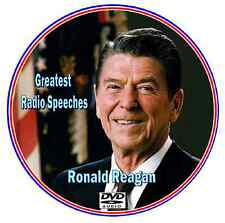 President Ronald Reagan's Greatest Speeches & O.T.R Guest Appearances Mp3 DVD