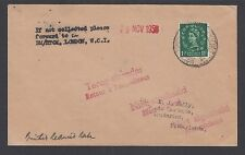 Great Britain Sc 294 on 1956 Netherlands Paquebot Cover