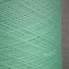 SUPER FINE 2/48s CASHWOOL PURE MERINO WOOL 500G CONE COBWEB YARN PLY MINT GREEN