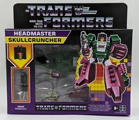 Transformers Headmaster Skullcruncher Retro Reissue 2020 Walmart Exclusive!