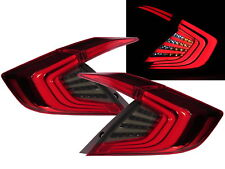 CIVIC MK10 2016-present Sedan 4D LED Feux Arriere Red/Smoke for HONDA