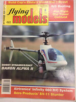 Flying Models Magazine Baron Alpha II Infinity 660 January 1993 040917nonrh2