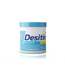 Desitin Rapid Relief Fragrance-Free Zinc Oxide Diaper Rash Cream, Baby, 16 oz.