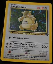 Holo Foil Kangaskhan # 5/64 Original Jungle Set Pokemon Trading Cards Rares SP