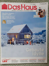 Das Haus,LBS, Ausgabe Südwest Januar/Februar 2021 Bauen, Wohnen,Schöner Leben