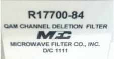 Microwave Filter Company Qam Channel Deletion Filter Chan 84 Part R17700 84