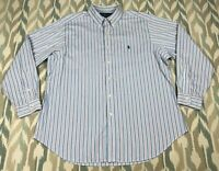 Ralph Lauren Men's Button Down Shirt Long Sleeve Classic Fit Size L (34-35)