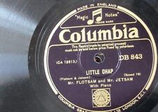 78rpm FLOTSAM & JETSAM little chap / the pussycay news DB 843 , EX