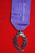 I4) Superbe médaille des PALMEs académiques école medal france order