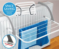 Over Radiator Airer Clothes Washing Drying Indoor Rack Adjustable Rail Dryer