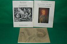3 catalogues vente enchères DROUOT Tableaux modernes Art Nouveau Deco 1988 1989