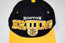 STARTER Boston Bruins Cap Snapback Mütze Hat Kappe Vintage 90s NHL Ice Hockey