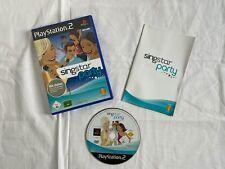 SingStar: Party (Sony PlayStation 2, 2004, DVD-Box)