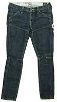 Womens G-Star Jeans 'ELWOOD HERITAGE EMBRO NARROW WMN' W26 L30 AU8 US4 RRP $289