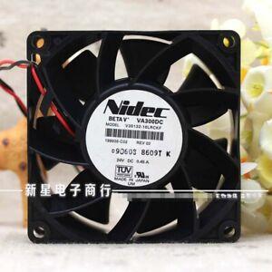 NIDEC V35132-16LRCKF 0.45A 8CM 24V 8038 AB inverter fan 8CM