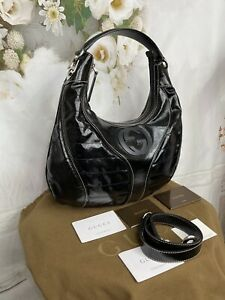 Gucci Dialux Snow Glam Satchel/shoulder Bag NWTS ABSOLUTELY GORGEOUS MSRP $1850