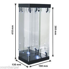 """MB-1 Acrylic Display Case LED Light Box for 12"""" 1/6th Scale Phicen Action Figure"""