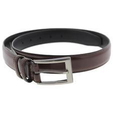 Geoffrey Beene Mens Tan Leather Textured Soft Touch Dress Belt 32 BHFO 1493